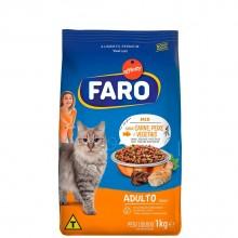 FARO CAT FOOD BEEF FISH & VEG 1kg