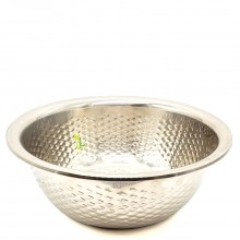 BISTRO MIXING BOWL STAINLESS STEEL 9in