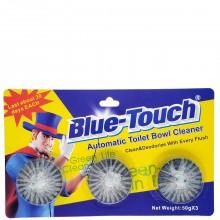 BLUE TOUCH AUTO TOILET BOWL CLEANER 3pk