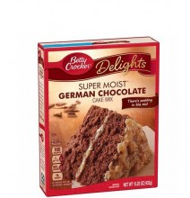 BETTY CRKR CAKE GERMAN CHOCOLATE 432g