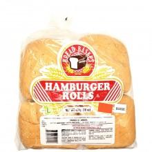 BREAD BASKET HAMBURGER ROLLS 450g