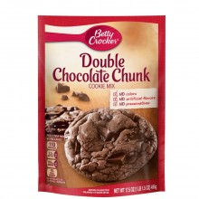 BETTY CRKR COOKIE DOUBLE CHOC CHUNK 496g