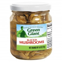 GREEN GIANT MUSHROOMS SLICED 127g