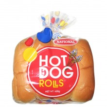 NATIONAL ROLLS HOT DOG 8ct 400g