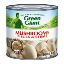 GREEN GIANT MUSHROOM STEMS & PIECES 113g
