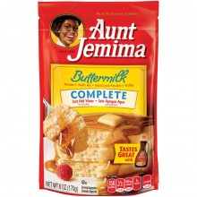 AUNT JEMIMA PANCAKE MIX BUTTER MILK 6oz