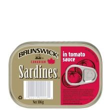 BRUNSWICK SARDINE TOMATO SCE 106g