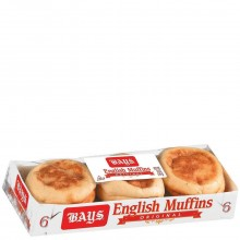 BAYS ENGLISH MUFFINS ORIG 6ct