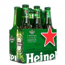 HEINEKEN LAGER BEER 6x330ml