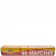 HOME SMART WOODEN MATCHES LONG STEM 40s