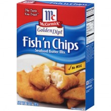 McCORMICK GOLD DIPT FISH & CHIPS 10oz