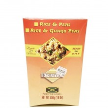 HOMESTYLES RICE & GUNGO PEAS 16oz