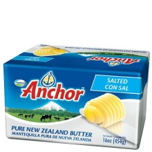 ANCHOR BUTTER SALTED 454g