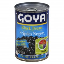 GOYA BEANS BLACK LOW SODIUM 15.5oz