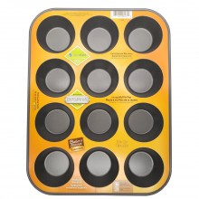BAKERS SECRET MUFFIN PAN 12 CUP
