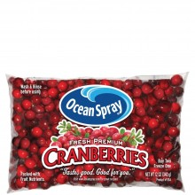 OCEAN SPRAY CRANBERRIES 12oz