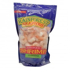 RAINFOREST SHRIMP 21-25 CKD JUMBO 2lb