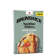 BRUNSWICK SARDINE FILLET SMOKE 106g