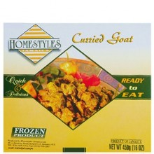 HOMESTYLES CURRIED GOAT 16oz