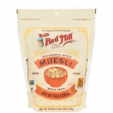 BOBS RED MILL CEREAL MUESLI COUNTRY 18oz