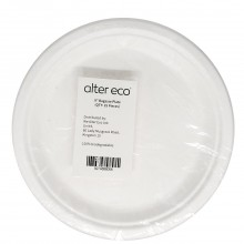 ALTER ECO BAGASSE PLATE 9in 25ct