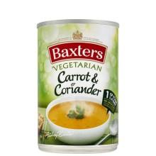 BAXTERS SOUP CARROT CORIANDER GF 400g