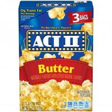 ACT II POPCORN BUTTER 3pk