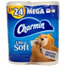 CHARMIN ULTRA SOFT MEGA 6pk