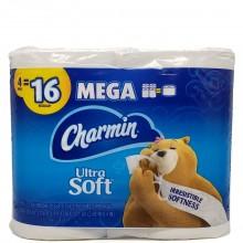 CHARMIN ULTRA SOFT MEGA 4pk