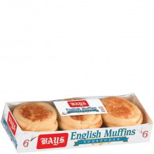 BAYS ENGLISH MUFFINS SOURDOUGH 6ct