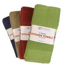 AMERICAN MILLS KITCHEN TOWEL 4pk